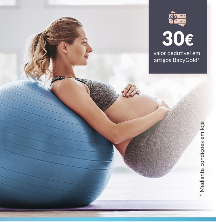 30 euros. Valor dedutível em artigos BabyGold mediante condições em loja