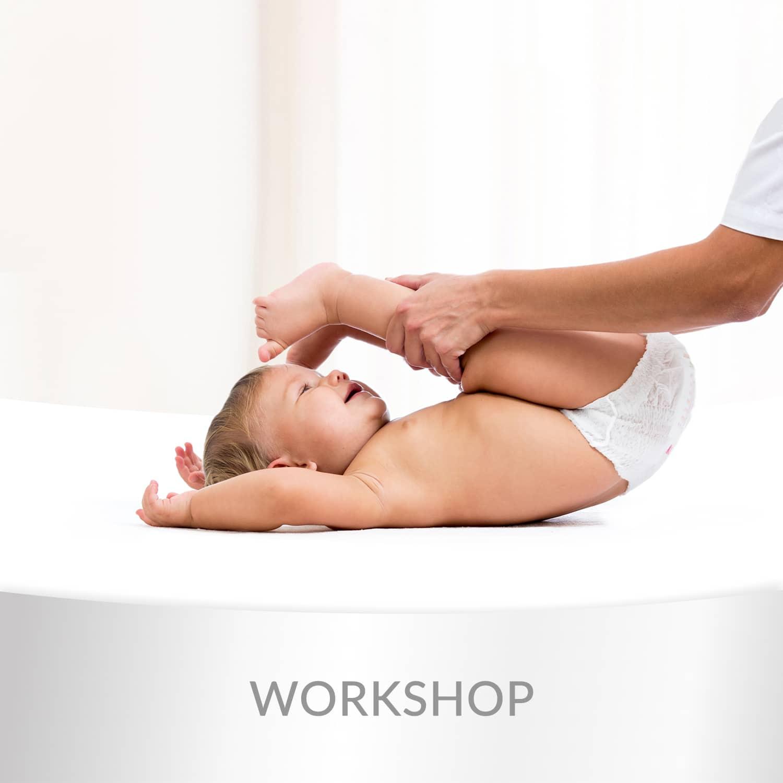 """Workshop """"Como Ajudar o seu Bebé"""""""